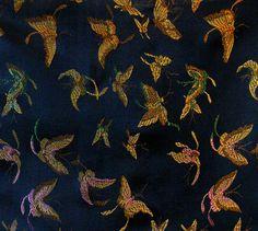 * 130 x 90 CM ! Magnificent brocade fabric wove... de silk wondeful por DaWanda.com