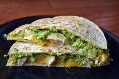 Quick and Easy Chicken Avocado Quesadilla Recipe