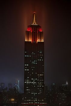 Empire State during Nemo the blizzard | Flickr - Photo Sharing!