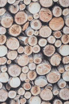 #Tissu #ameublement #coton impression numérique rondins de bois