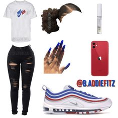 Best Picture For baddie outfits shoes For Your Taste You are looking for something, and it is going Baddie Outfits Casual, Swag Outfits For Girls, Cute Outfits For School, Teenage Girl Outfits, Cute Swag Outfits, Chill Outfits, Cute Comfy Outfits, Dope Outfits, Teen Fashion Outfits