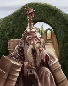 Labyrinth - Wiseman and Hat David Bowie Labyrinth, Labyrinth 1986, Labyrinth Movie, Jim Henson Labyrinth, Labrynth, Cute Fantasy Creatures, Goblin King, Nostalgia, Alien Art