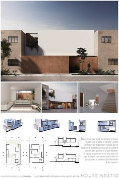 54 Ideas Design Layout Minimalist Behance For 2019 Minimalist Architecture, Concept Architecture, Architecture Details, Interior Architecture, Architecture Tools, Security Architecture, Villa Design, Modern House Design, Interior Design Presentation