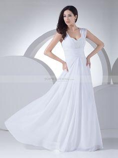 Randie - corte a gorra vestido de novia de satén con cuentas