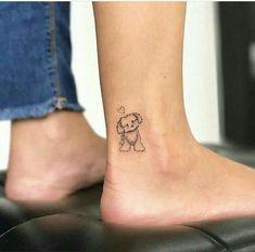 41 kinds of your favorite pet dog tattoos, leaving traces for pets - Page 27 of .- 41 kinds of your favorite pet dog tattoos, leaving traces for pets – Page 27 of 41 – BEAUTIFUL LIFE Small Dog Tattoos, Tiny Tattoos For Girls, Little Tattoos, Mini Tattoos, Tattoos For Women, Cool Tattoos, Tatoos, Tattoos Skull, Awesome Tattoos