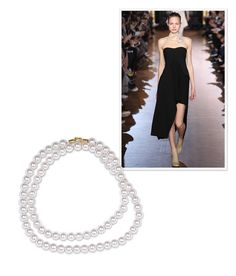 Not Your Granny's Pearls This season's LBD calls for Stella McCartney's double-strand of pearls coiled evocatively around the neck—and that's it.