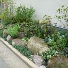 じわじわ人気上昇中!ロックガーデンで塩系インテリアならぬ塩系ガーデンを楽しもう - NAVER まとめ Patio Design, Garden Design, Water Garden, Garden Styles, Dream Garden, Plant Decor, Curb Appeal, Indoor Plants, Landscape Design
