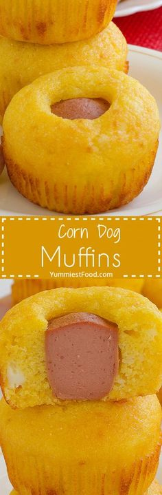 Corn Dog Muffins - You can also add ingredients you like the most and your family will enjoy in this Corn Dog Muffins which is perfect for breakfast.