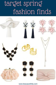 Affordable Accessories // Spring Fashion // Target Fashion Finds // Affordable Spring Fashion | beautywithlily.com