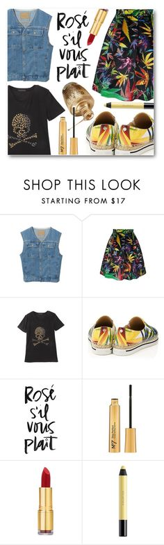 """""""Springy Edge"""" by eclectic-chic on Polyvore featuring Jimmy Choo, Isaac Mizrahi, shu uemura, women's clothing, women, female, woman, misses, juniors and floral"""