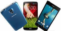 Who's The Boss: Samsung Galaxy S5 vs Sony Xperia Z2 vs #LG G Pro 2?
