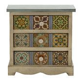 Found it at Wayfair - Oua-Oue 3 Drawer Canvas Table Chest