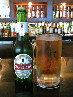 Phlippines - San Miguel San Miguel Beer, Beer Cellar, Beer Club, Beers Of The World, Vintage Bottles, Brewery, Beer Bottle, Liquor, Alcohol