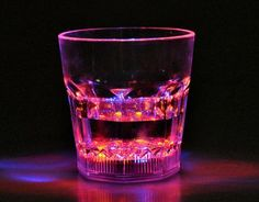 Water Activated LED Glass #bachelorette
