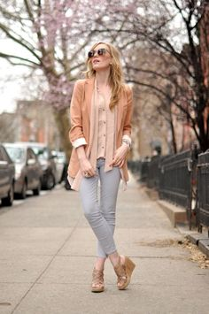 Simple but Fun and Stylish Ways to Wear Color for Spring