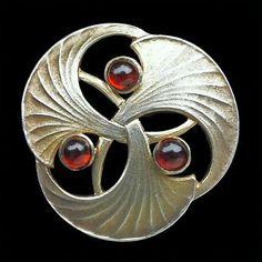 Theodor Farner Arts & Crafts Button