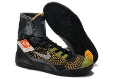 Inspiration Metallic Silver/Anthracite/Black Colorway NBA Basketball Shoes - Kobe Bryant 9 Elite High