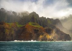 The Napali Coast Kauai HI [OC] 1200x848 -Please check the website for more pics