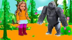 American Girl Doll walking in wild forest to see Animals toy Hi Today I going to show you in the forest with many animals and american doll walking animation. Walking Animation, Wild Forest, Pet Toys, Girl Dolls, American Girl, Cute Babies, Dinosaur Stuffed Animal, Cute Animals, Winter Jackets