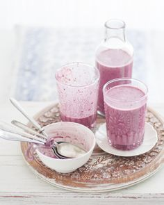 Blueberry Lassi by Laksmi W, via Flickr