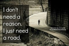Only need a road!