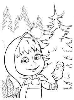 COLORING BOOK five PAGES on 140