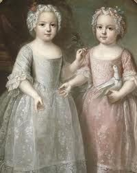Louise Élisabeth and Henriette de France, The Twins of Versailles, were born on this day in 1727.  http://www.madamegilflurt.com/2013/08/notable-birthdays-louise-elisabeth-and.html