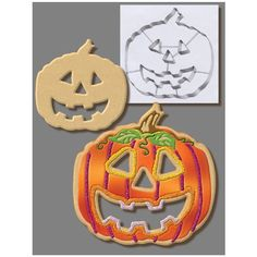 Large Stainless Steel Pumpkin Cookie Cutter 7.5 5873 *** Tried it! Love it! Click the image. : Baking Accessories