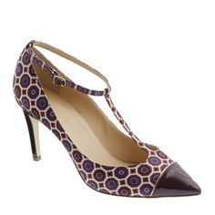 Weekly Shoe: J.Crew Everly T-strap pump #fashion #style #footwear
