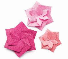 413 best origami flowers images on pinterest in 2018 origami zen origami two faced flower quarto creates mightylinksfo