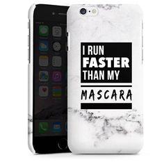 I run faster than my mascara für Premium Case (glänzend) für Apple iPhone 6 von DeinDesign™