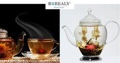 tea blooming flower tea Flower Tea, Blooming Flowers, Gothic Lolita, Tea Set, Jar, Instagram, Home Decor, Fragrance, Bead