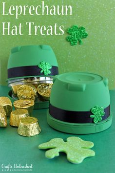 Leprechaun Hat Treats for St. Patricks' Day