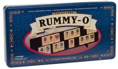 Rummy-O is the fast-paced Rummy Tile game the entire family will love.  It is an enduring classic that is easy to learn yet challenging to win.