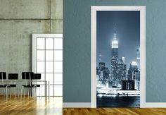 Türdeko - Türdesign New York at Night 1 Panorama