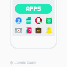 Cornie icons v3.2.5   Cornie icons v3.2.5Requirements:4.1Overview:Cornie icons is a Material Design based icons handcrafted with love to make them look unique and beautiful.  Features:  IconShowcase dashboard app by Jahir Fiquitiva  2400 Handcrafted Vector Icons  2400 Themed Activities  Simple white & dark dock icons  Dynamic Calendar icons  112 Cloud wallpapers  Support for many launchers and CM Theme Engine  Zooper Widget templates  KLWP & KWGT templates  komponents  Muzei Live Wallpaper…
