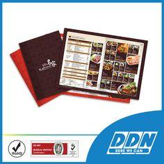 In menu quán ăn thái - In Menu Nhà Hàng | DDN Printing