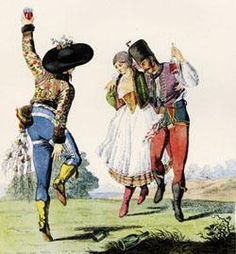 The Csárdás is the national dance of Hungary. This couples-dance dates back to at least the 18th century, and the name itself derives from the Hungarian word for Tavern, Csárda.