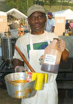 """LOWCOUNTRY MOP SAUCE"" --BBQ Recipe"