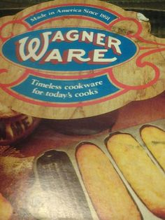 VINTAGE Wagner Ware never used corn pone baking pan...awesome corn pones~CHEAP~ by InsultrOfArizona on Etsy