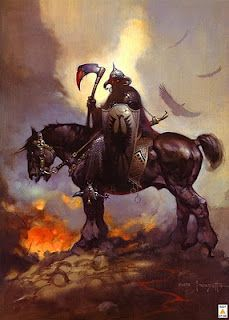 Frank Frazetta - one of my all turn favorites of his