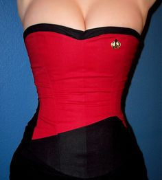 e9a6441261 Star Trek corset Repin By Pinterest++ for iPad  Star Trek Cosplay