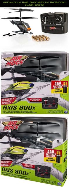 Air Hogs Axis Dual Propeller Gyro Kid Toy Play Remote Control Charger Helicopter #plans #parts #tech #camera #hogs #racing #technology #fpv #drone #gadgets #kit #air #products #shopping #charger