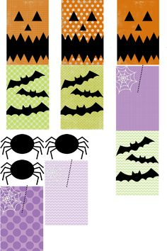 Printable Halloween gift tags & stickers from The Twinery Gross Halloween Foods, Halloween Favors, Halloween Tags, Halloween Stickers, Fall Halloween, Halloween Decorations, Halloween Party, Halloween Ideas, Free Printable Tags