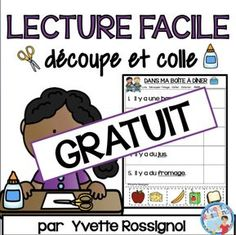 No PREP Free French reading activities perfect for Primary French Immersion! These cut and paste French printable worksheets have sight words, predictable sentences and easy vocabulary. French Language Lessons, French Language Learning, French Lessons, Spanish Lessons, Spanish Language, Dual Language, German Language, French Teaching Resources, Teaching French