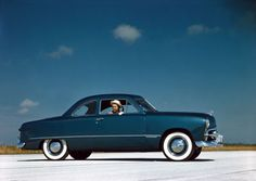 The 1949 Ford was the first all-new American car design to come out of Detroit after WWII.