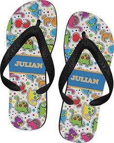 cbc6bf815a4a Dinosaur Print Flip Flops Extra Small   More info could be found at the  image url. (This is an affiliate link)  WomensFlipFlopsSandals