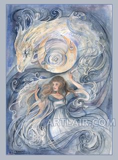 Elementals: Moon by ~rynkitty on deviantART