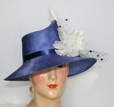 One of a Kind Hat, Parasisal Straw for women