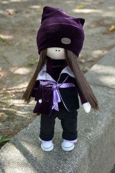 Elena Take hobby: Фиолетовая девочка